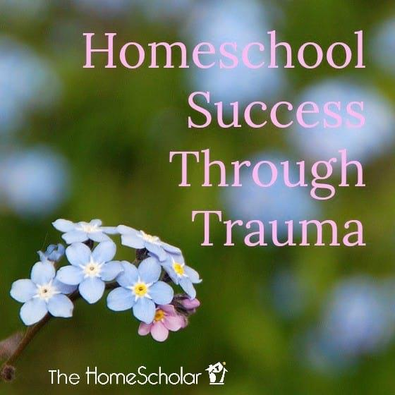 Homeschool Success Through Trauma
