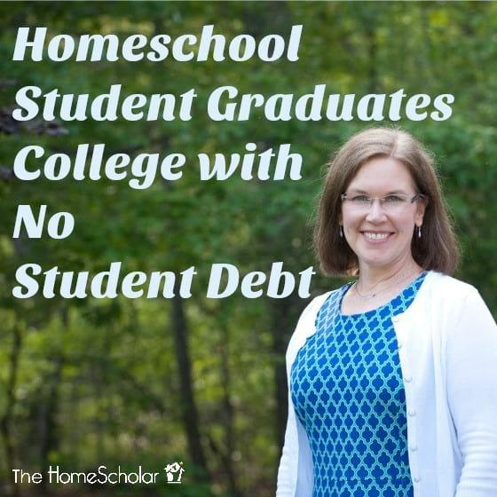 Homeschool Student Graduates College with No Student Debt