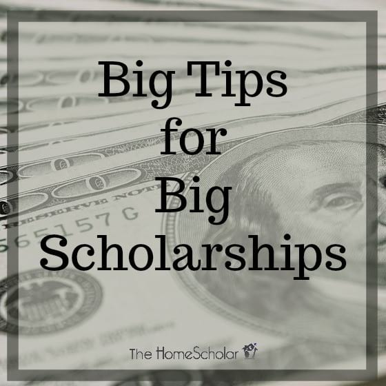 Big Tips for Big Scholarships