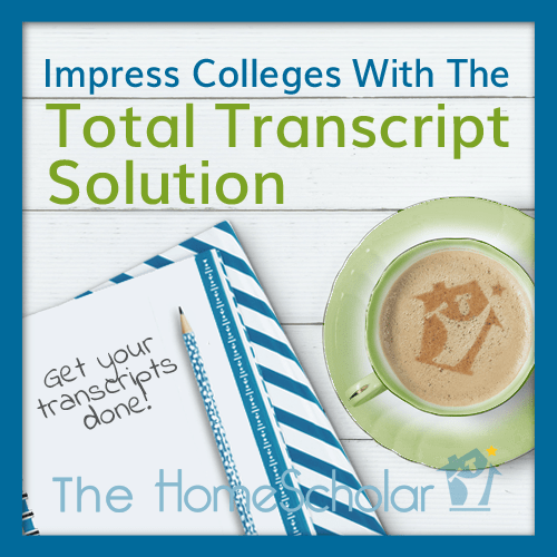 Great Scholarships with Homemade Transcript and Homeschool GPA