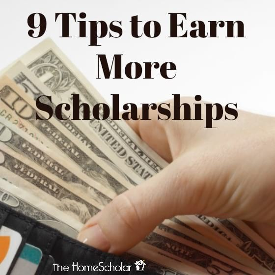 9 Tips to Earn More Scholarships