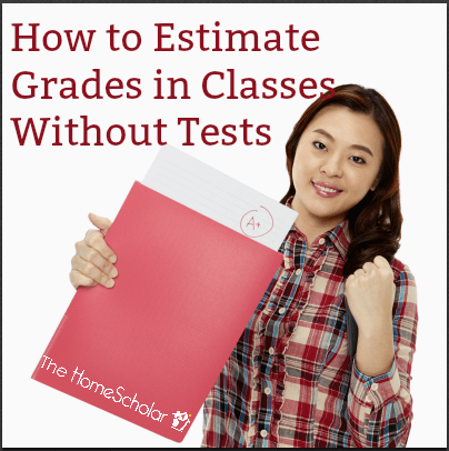 How to Estimate Grades in Classes Without Tests