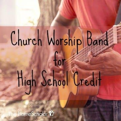 Church Worship Band for High School Credit
