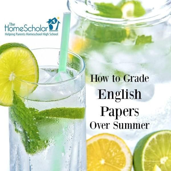 How to Grade English Papers over Summer