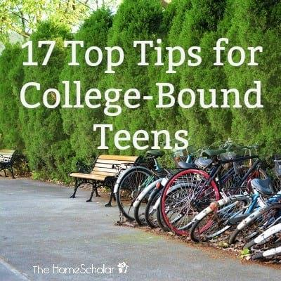 17 Top Tips for College-Bound Teens