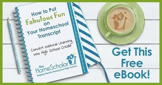 Learn How to Put Fabulous Fun on Your #Homeschool Transcript @TheHomeScholar