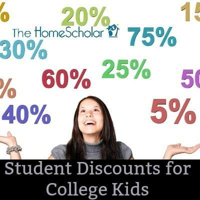 Student Discounts for College Kids