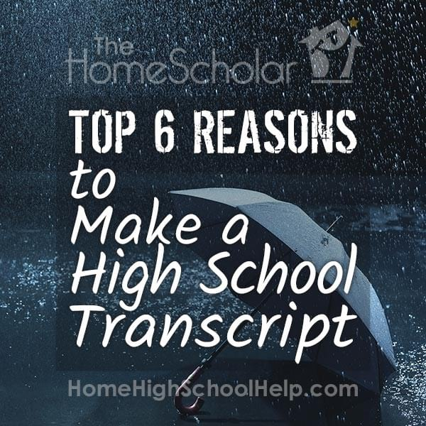 Top 6 Reasons to Make a High School Transcript