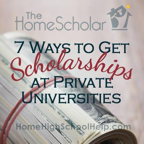 7 Ways to Get Scholarships at Private Universities